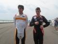 6.Daniel de Jong en Max Verstappen