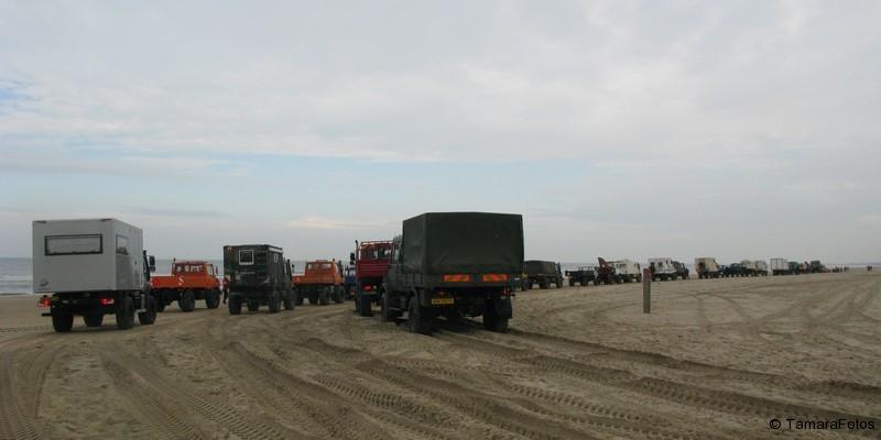 78.Unimog Strandtreffen 11 oktober 2014